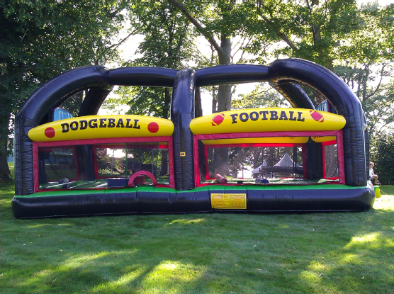 Hotter sale Inflatable All in One Sports Arena Rental for Promotion