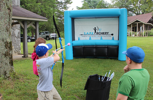 Inflatable Safe Archery Archery Hoverball Target Challenge For Children