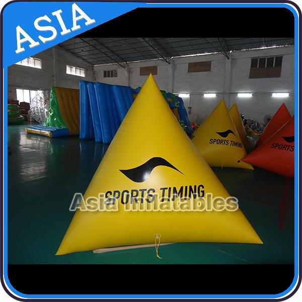 Inflatable Water Barrier Walls, Swim Buoys For Ocean Or Lake Advertising