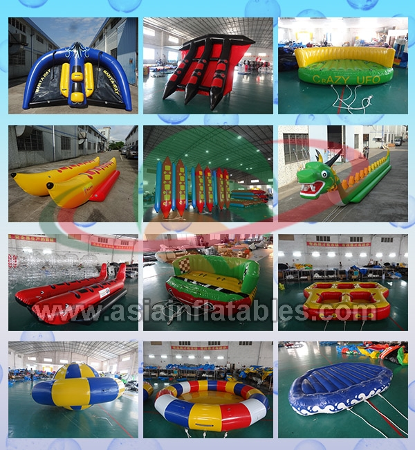 Firproof Custom Inflatable Flying Fish Boat Water Surfing Board Water Equipmen