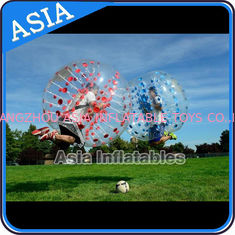 चीन 1.7m Inflatable Bumper Ball , Inflatable Ball Suit , Soccer Bubble , Tpu Bubble Soccer फैक्टरी