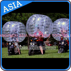 चीन Bubble Footballs , PVC and TPU Bumper Balls , Bubble Soccer ball , Human bubble football फैक्टरी