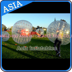 चीन Colorful dot inflatable human bubble soccer , Body zorbing ball , Outdoor loopyball फैक्टरी