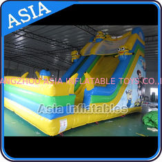 चीन PVC Tarpaulin Commercial Inflatable Bouncer Inflatable Minions Bouncy Castle फैक्टरी