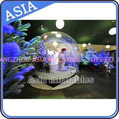 चीन Christmas Inflatable Snow Globe / Giant Inflatable Snow Globe फैक्टरी
