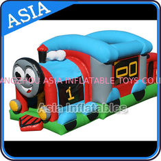 चीन Commercial Inflatable Bouncer Choo Choo Train Bouncy House For Kids फैक्टरी