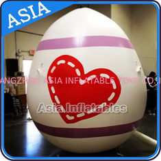 Egg Shape Helium Balloon And Blimps Inflatable Easter Balloons Customized Large