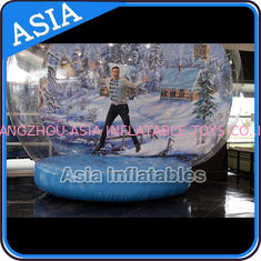 चीन Strong PVC Christmas Snow Globe / Inflatable Bubble Tent For Sale फैक्टरी