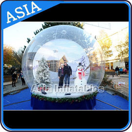 चीन Olaf Inflatable Snow Globe Advertising Inflatable Bubble Tent With Frozen Cartoon फैक्टरी