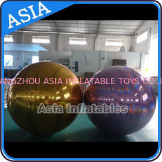 Inflatable Helium Advertising Mirror Balloon / Giant Inflatable Mirror Ball Ground