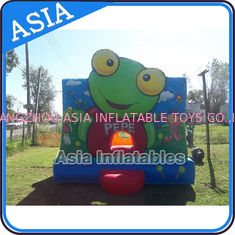 चीन Inflatable Bouncer Sapo Pepe Bouncy Castle For Party Hire Outdoor Games फैक्टरी
