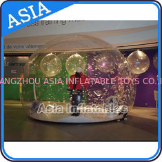 चीन Waterproof Inflatable Snow Globe For Advertisement With Fake Snow फैक्टरी