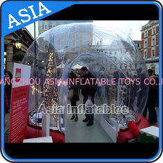 चीन Durable Human Inflatable Snow Globe / Inflatable Tent For Chirstmas फैक्टरी