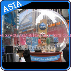 चीन Airblown Yard Inflatable Bubble Tent Decoration , Inflatable Christmas Snow Globe फैक्टरी