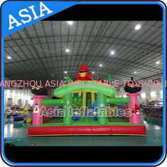 चीन Inflatable Angry Bird Bouncer Slide Palyground / Inflatable Angry Bird Jumping Bouner Castle Combo फैक्टरी