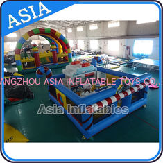 चीन 5ml Commercial Inflatable Bouncer Circus Bounce Playground Fun City फैक्टरी