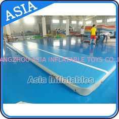 चीन 10ml Light Blue Inflatable Air Gymnastics Mats For P फैक्टरी