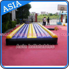 चीन Yoga Training Inflatable Tumble Mattress With Constant Blower फैक्टरी