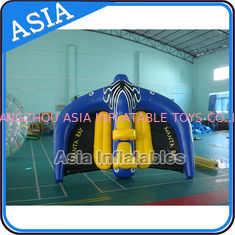 चीन 0.9mm PVC Tarpaulin Inflatable Flying Manta Ray / Fly Fish Inflatable Water Parks फैक्टरी