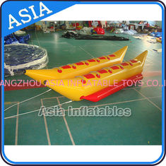 चीन Water Games Inflatable Boats Double Tubes Flying Fish Inflatable Banana Boat फैक्टरी