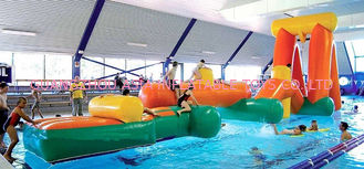 चीन Inflatable Aqua Challenging Sports, Inflatable Water Floating Obstacles फैक्टरी
