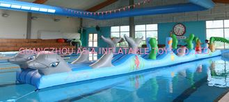 चीन Inflatable Sports For Swimming Pool, Aqua Obstacle Course For Sale फैक्टरी