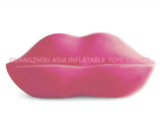 चीन New Lip Shaped Design Inflatable Pink Couch Sofa With Two Seats For Relax फैक्टरी