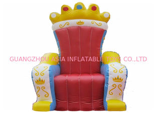 चीन Hot Selling Replicas Inflatable Advertising King Sofa , Inflatable King Chair फैक्टरी