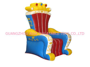 चीन Ce Certificated Inflatable King Chair Sofa Furniture For Rental फैक्टरी
