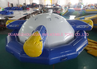 Inflatable Floating , Spinning Planet Saturn For Water Sports