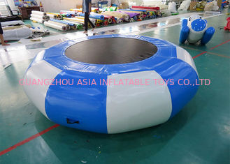 चीन Inflatable Bounce Platform , Inflatable Water Trampoline Sports फैक्टरी