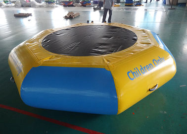 चीन Commercial Water Games Inflatable Crocodile Water Trampoline With 0.9mm Pvc Tarpaulin फैक्टरी