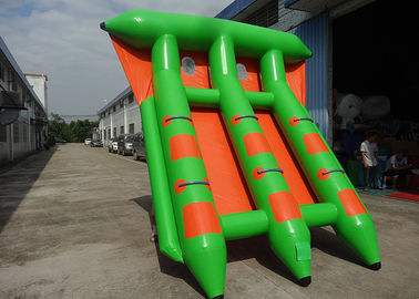 चीन 4-6 Passangers InflatableTowable Sport Games/ Fly Fishing Boat Fish Raft Boat फैक्टरी