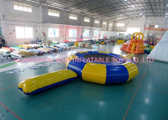 चीन Rave Aqua Jump Eclipse Water Parks , Inflatable Water Games Chinese Supplier फैक्टरी