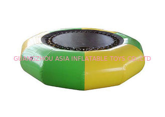 चीन Hoe Sale Jump Water Trampoline ,  Inflatable Water Games For Water Park फैक्टरी