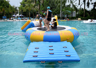 चीन China Inflatable Water Trampoline Water Sport Toys , Inflatable Water Games फैक्टरी