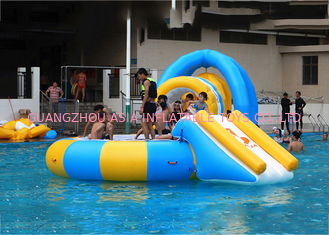 चीन 14' Aquaglide Platinum Supertramp Water Trampoline For Summer , Inflatable Water Games फैक्टरी