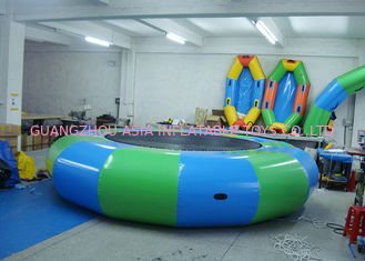 चीन Commercial Air Tight Inflatable Water Trampoline For Water Sport Games फैक्टरी