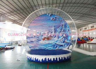 चीन Inflatable Snow Globe / Bubble Tent for Take Ptoto and Exhibition फैक्टरी