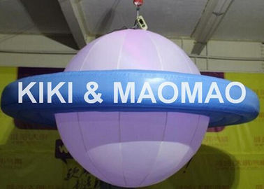 चीन Inflatable UFO Saturn Helium Balloon , Custom PVC Advertising Character Balloon फैक्टरी