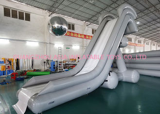 चीन 0.90mm PVC Water Slide, Inflatable Water Sports For Water Park फैक्टरी