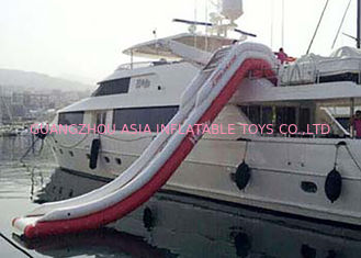 चीन Giant Inflatable Water Slide , Inflatable Water Amusement Equipment, Yacht Slide फैक्टरी