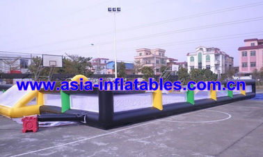 चीन Portable Large Inflatable Soccer Pitch For Commercial Use , Inflatable Soccer Field फैक्टरी