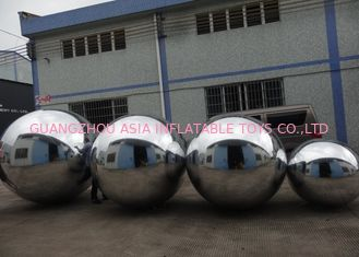 चीन Advertising Mirror Helium Balloon And Silver Mirror Ball Inflatable For Party फैक्टरी