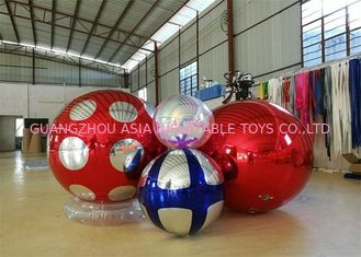 चीन Stage Customized Advertising Fireproof Inflatable Mirror Ball For Christmas Decoration फैक्टरी