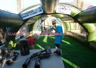 चीन CE Approved Inflatable Paintball Tent Re - Usability Inflatable Air Tent फैक्टरी