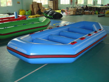 चीन 3.2m Long PVC tarpaulin Blue Color Inflatable Boat for 8 Persons फैक्टरी
