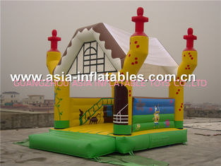 चीन 2014 new design advertising inflatable combo unit/promotion PVC inflatable jumping bouncer फैक्टरी