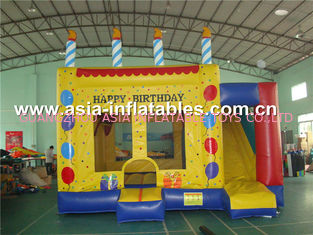 चीन Dreamland Inflatable Combo Bounce House slide inflatable bouncer फैक्टरी