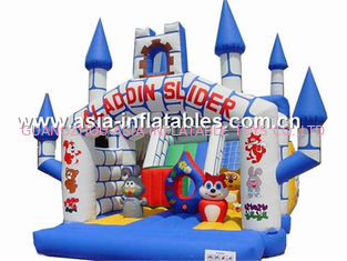 चीन inflatable combo  bounce house,cheap inflatable bouncy castle prices for sale फैक्टरी